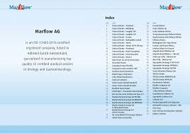marflow ag medical equipment for urology and gastroenterology