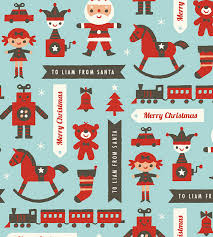 christmas gift wrapping paper personalized gift wrapping paper from minted merriment design