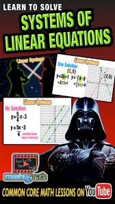so it turns out that lightsabers are not the only things that can intersect diffe solutions to linear systems