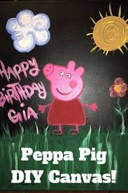 the 25 best peppa pig painting ideas on pinterest peppa pig