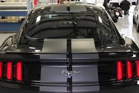 Mustang Black Matte Matte Vinyl Racing Stripes Ford Mustang Zilla Wraps