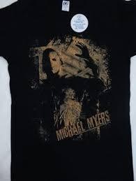 michael myers halloween horror movie film strip t shirt michael