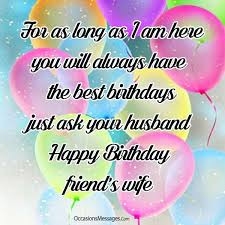 birthday wishes for a friend s occasions messages