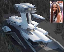 naomi campbells new unique home celebrity houses celebrity homes