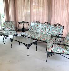vintage woodard wrought iron patio furniture ebth