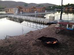 Floating Fire Pit by Santee Lakes Floating Cabins Picture Of Santee Lakes Recreation