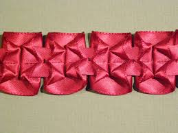 pleated ribbon how to make a lovely pleated ribbon trim threads
