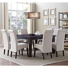 simpli home avalon 9 piece natural dining set axcds9 avl nl the