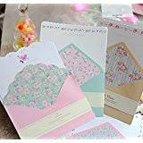 amazon com 32 cute letter writing paper letter sets with 8