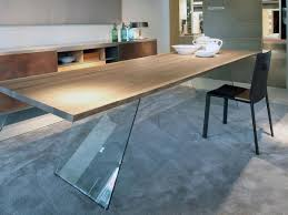 table with glass base living room table with minimal design