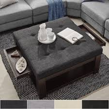 Living Room Table With Storage Square Coffee Tables For Less Overstock