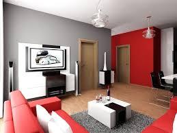Wohnzimmer Schwarz Grau Rot Fliesen Steinoptik Porcelanosa Boden Grau Sofa Wohnzimmer