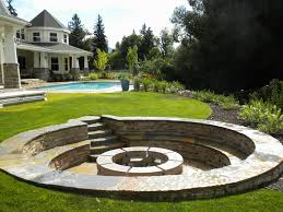backyard fire pit ideas home fireplaces firepits backyard