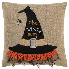 michaels halloween stuff buy the witch hat pillow by ashland at michaels