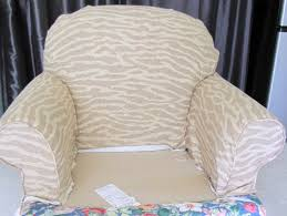 Slipcover Chair And Ottoman Goodbye House Hello Home Blog Armchair And Ottoman Slipcover