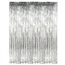 Silver Foil Curtains Foil Shimmer Wedding Curtains Backdrops Uk Candle