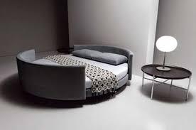 sliced u0026 spliced pair of sofas slide to form circular bed