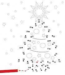 dot to dot u2013 christmas tree kidspressmagazine com
