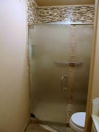 showers doors glass best etched glass shower doors 1000 images about glass shower door