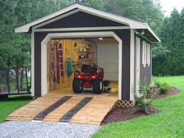 How To Build A Tool Shed Ramp by Playhouse Free Plans Wood Outdoor Building Projects Playhouse