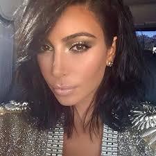 kim kardashian new 2016 hairstyle