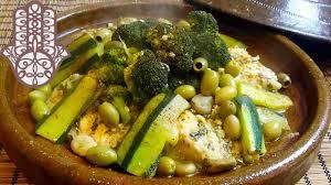 cuisiner le congre tajine de congre aux légumes verts