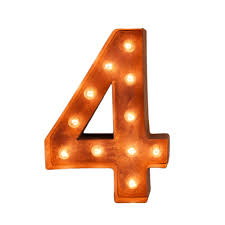 marquee numbers with lights 12 number 4 four sign vintage marquee lights buy marquee lights