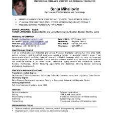 Usa Resume Template by Resume Usa Horsh Beirut
