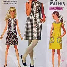 pattern a line shift dress vintage bib front shift dress pattern google search project