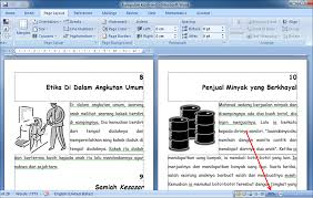 membuat novel di ms word membuat layout buku dengan ms word tulisan khozin 99