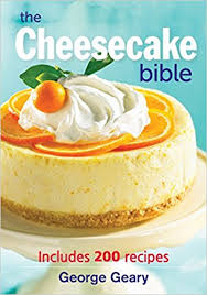 Christmas Cheesecake Decoration - the cheesecake bible includes 200 recipes george geary