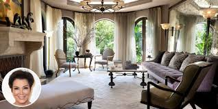 kris jenner home interior inside kris jenner s glorious redesigned los angeles mansion