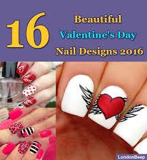 16 beautiful valentine u0027s day nail designs 2016 uk
