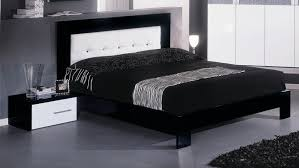 Italian Modern Bedroom Furniture by Moon Italian Modern Black U0026 White Nightstand