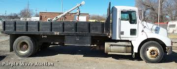 kenworth t300 for sale 1998 kenworth t300 flatbed dump truck item da7362 sold