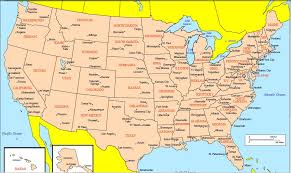map of us cities free us map with cities large detailed highways map of usa