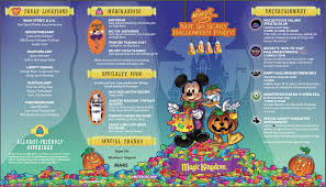 guide to mickey u0027s not so scary halloween party in 2017