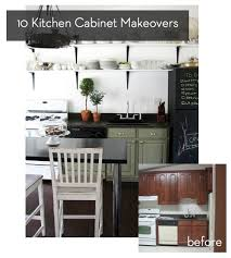 Kitchen Cabinets Facelift Roundup 10 Inspiring Kitchen Cabinet Makeovers Curbly