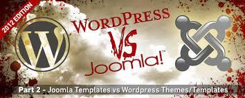wordpress v joomla templates and themes u2014 sitepoint