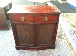 antique record album cabinet cabinet for record player vintage record storage mid century modern