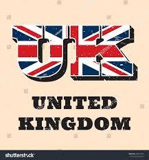 vector letters uk logo design english stock vector 468721844