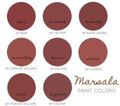 eye for design decorate with marsala pantone u0027s color of the year