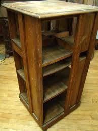 Oak Revolving Bookcase Gamage Antiques Your Source For Antiques Appraisals Auctions