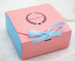 cookie box favors 11 11 5cm pink chocolate gift boxes paper boxes for cakes