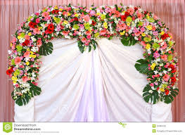 wedding backdrop of flowers backdrop flowers royalty free stock photo image 24982425