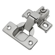 how to update cabinet hinges hickory hardware 1 2 in bright nickel concealed cabinet hinge