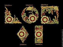 buy machine embroidery designs set of slavic motifs on livemaster