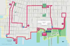 Map Of Newport Oregon by Course Map Newport 10k