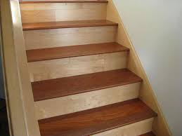 wood stair tread caps u2014 railing stairs and kitchen design your