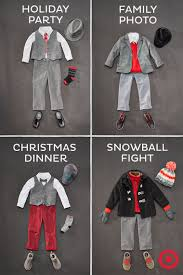 Baby Boy Clothes Target Baby U0027s First Christmas Holiday Ready From Head To Toe